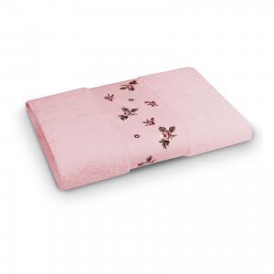 Полотенце махровое 50*90 Розали, , розовый Cozy Home