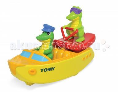 Игрушка для ванны Крокодил на водных лыжах Tomy