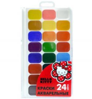 Медовая акварель  Hello Kitty 24 цвета Action