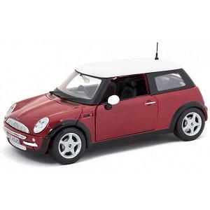 Машинка  Mini Cooper, 1:24 Maisto. Цвет: разноцветный