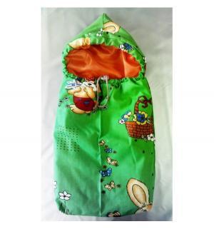 Аксессуары для кукол  Снежная фантазия Спальник зеленый 48 см Спортбэби