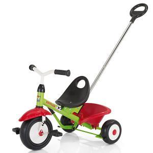 Трехколесный велосипед  Funtrike Emma, красный/зеленый Kettler. Цвет: красный