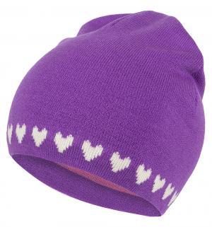 Шапка , цвет: фиолетовый Flobaby