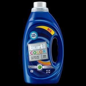 Средство для стирки  цветного белья Liquid color, 1.45 л Burti
