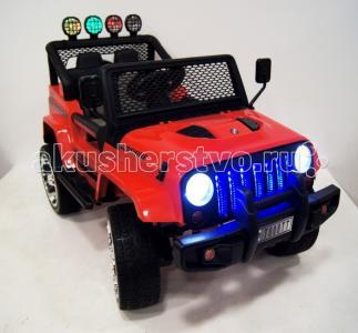Электромобиль  Jeep T008TT 4х4 с дистанционным управлением RiverToys