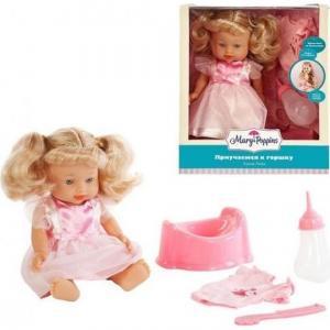 Кукла  Приучаемся к горшку Лизи 30 см Mary Poppins