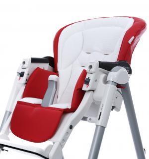 Чехол сменный  к стульчику для кормления Peg-Perego Best Sport, цвет: red/white Esspero