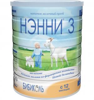 Заменитель молока  3 с 12 месяцев, 800 г Нэнни