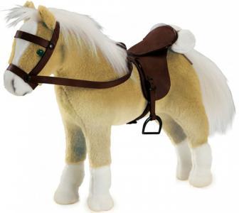 Мягкая игрушка  Лошадь Хафлингер для кукол Gotz