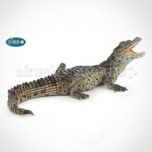 Игровая реалистичная фигурка Крокодильчик Papo