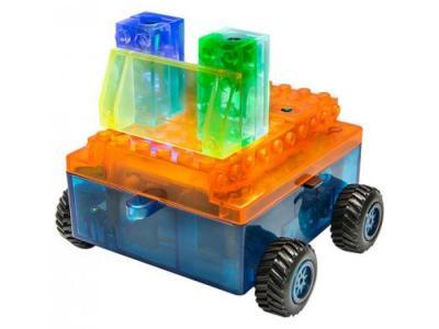 Конструктор  Набор 8 в 1 Военная машина с цветными деталями Laser Pegs