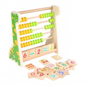 Деревянная игрушка  Дино-счеты Lucy&Leo
