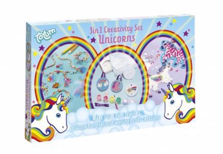 Набор для творчества Unicorns Creativity set 3 в 1 Totum