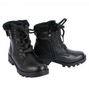 Ботинки , цвет: черный Сказка