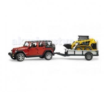 Внедорожник Jeep Wrangler Unlimited Rubicon 02-925 Bruder