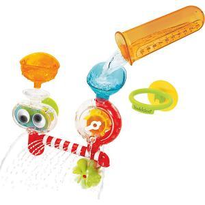 Игрушка для купания  Забавная лаборатория Yookidoo. Цвет: разноцветный
