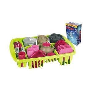 Набор игрушечной посудки Ecoiffier 100% Chef, 45 предметов écoiffier