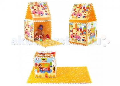 Игровой коврик  Семейный дом Mambobaby