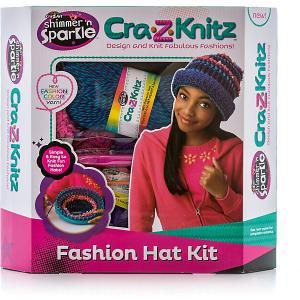 Набор для вязания Шапка Cra-z-knitz