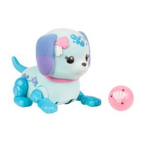 Игровой набор  Щенок с мячиком Shelley голубой 8 см Little Live Pets