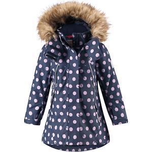 Утеплённая куртка  Muhvi Reima. Цвет: темно-синий