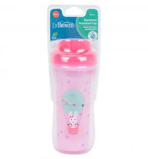 Чашка-термос Dr.Browns Зайка без носика, с 12 месяцев, цвет: розовый Dr.Brown's