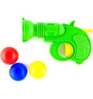 Пистолет  с шарами, цвет: зеленый Плэйдорадо