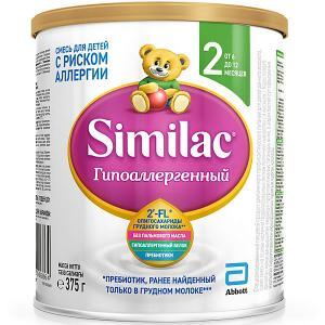Молочная смесь  Гипоаллергенный 2, с 6 мес, 375 г Similac