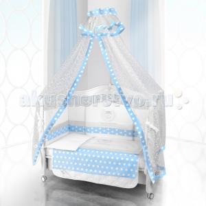 Комплект в кроватку  Unico Guseppe Ottaviani 125х65 (6 предметов) Beatrice Bambini