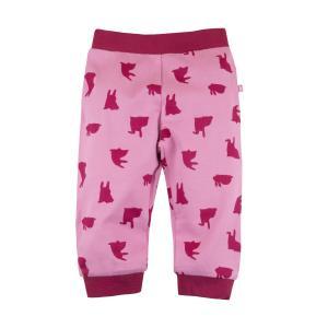 Ползунки  Елки-иголки, цвет: розовый Bossa Nova