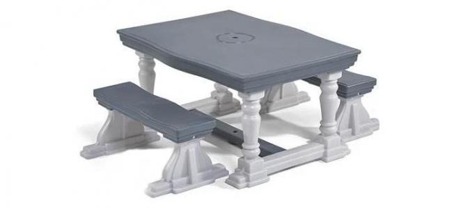Стол со скамейками Step 2