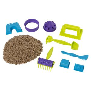Набор песка для лепки  Веселая пляжная игра Kinetic sand