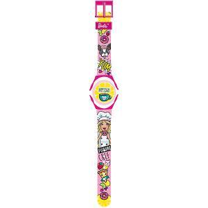 Электронные наручные часы Kids Time Barbie Детское время. Цвет: розовый