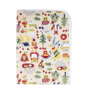 Пеленка  непромокаемая для коляски 50х70 см, 1 шт, цвет: бежевый Multi-Diapers