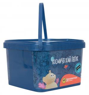 Кинетический песок  цвет: голубой 3 кг Космический
