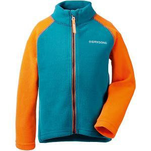 Демисезонная куртка Didriksons Monte DIDRIKSONS1913. Цвет: синий/оранжевый
