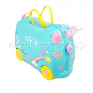 Детский чемодан на колесиках Trunki