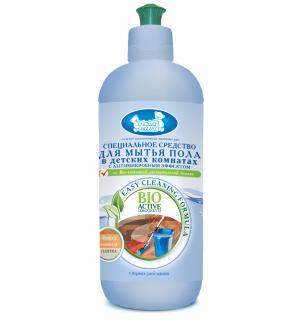 Средство для мытья пола  в детcких комнатах с антимикробным эффектом, 500 мл Наша Мама