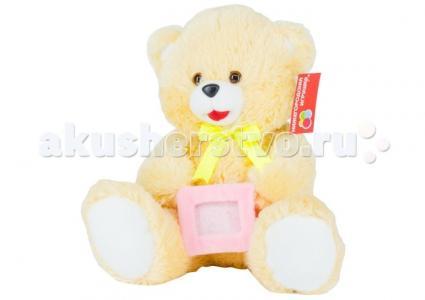 Мягкая игрушка  Медведь с рамкой малый 44 см Нижегородская