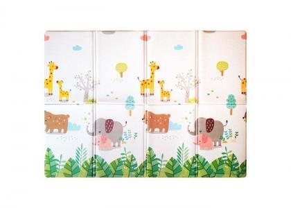 Игровой коврик  Soft Family (книжка) 190х130х1 см Mambobaby