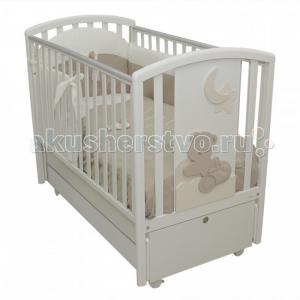 Детская кроватка  Babi продольный маятник MIBB