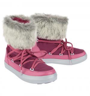 Унты  LodgePoint Lace Boot W Pomegranate, цвет: фиолетовый Crocs