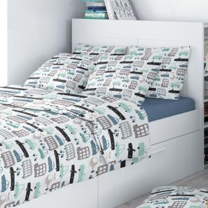 Комплект постельного белья  Eco cotton combo Amore Mio