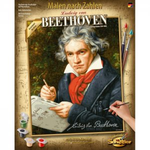 Картина по номерам Людвиг Ван Бетховен 50х40 см Schipper