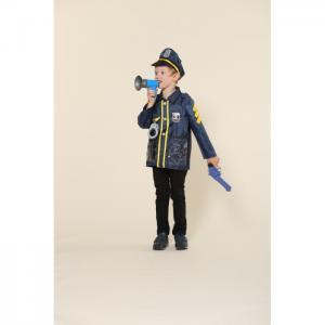 Игровой костюм полицейского с пистолетом Teplokid