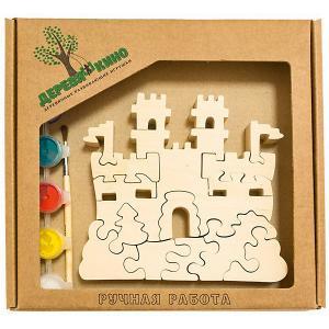 Развивающий пазл Замок с башнями Деревяшкино