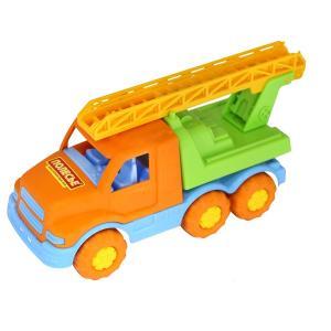 Машинка  Гоша Пожарная спецмашина оранжевая 18 см Полесье