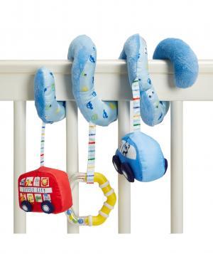 Подвеска-спираль В дороге , цвет: синий Mothercare