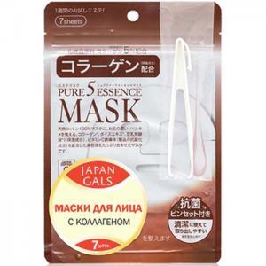 Маска с коллагеном Pure 5 Essential 7 шт. Japan Gals
