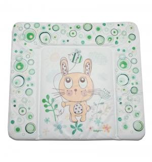 Матрас для пеленания BabyCare Funny Bunny, цвет: зеленый Baby Care